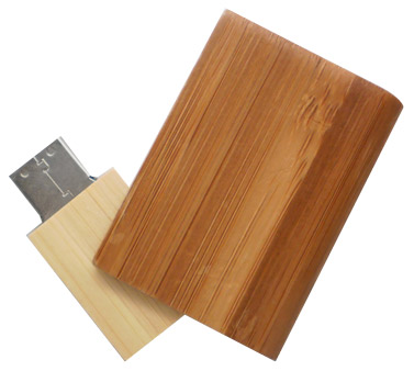 Book shape wooden usb (PB028)