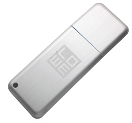 slim metal usb drive (PB9136)