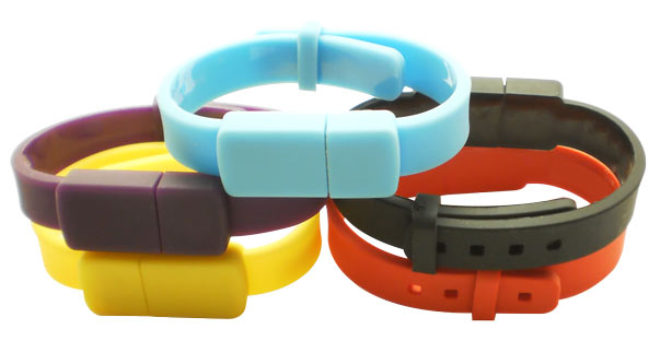 Adjustable bracelet usb flash drive