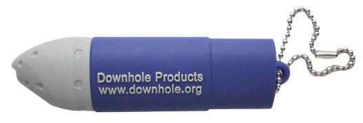 Oval shape PVC rubber flash drive