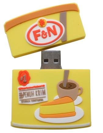 Tin milk flash drive design