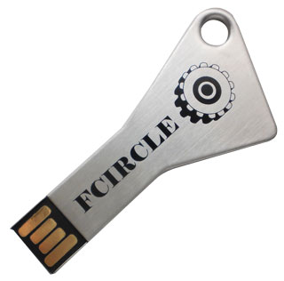 Triangular shaped thumb drive (PB5511)