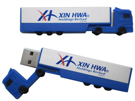 Truck shape usb stick
