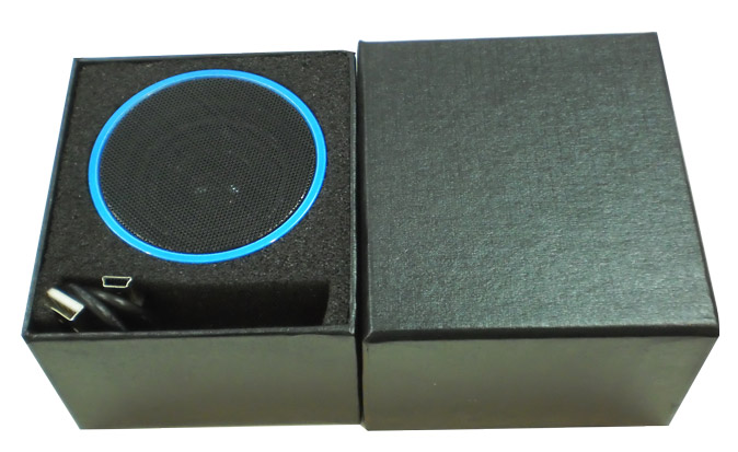 Exclusive gift box for wireless bluetooth speaker