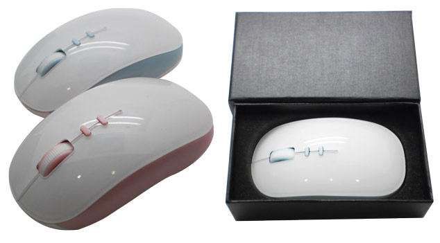 Wireless mouse (WM-01) with Black Gifts box